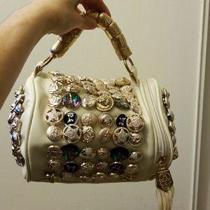 Handbags - New Top Handle, Shoulder Barrel Button Bag